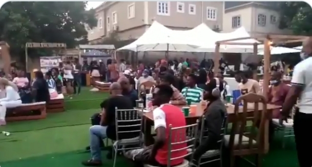 Lagos Govt defies COVID-19 directives, approves company's end of the year party amid rising cases