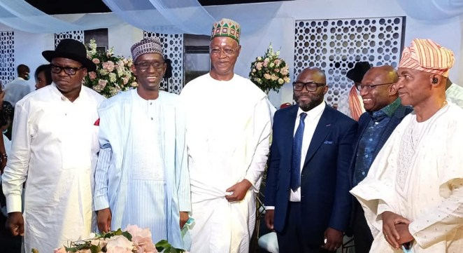 PHOTOS: Former President Olusegun Obasanjo's Son, Seun Weds, Gifts Bride SUV