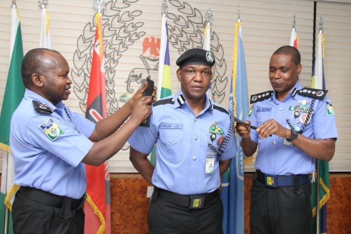 PHOTOS: Force Spokeperson, Frank Mba Promoted, Now Commissioner Of Police