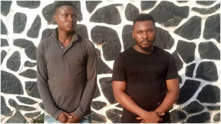 Two arrested for gang-raping, filming teenager in Ogun