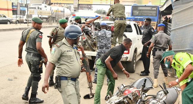 Lagos launches anti-oneway taskforce, arrests traffic law Offenders