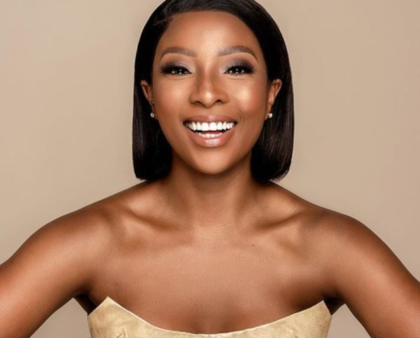Pearl Modiadie shares adorable video of herself with son, Olivier