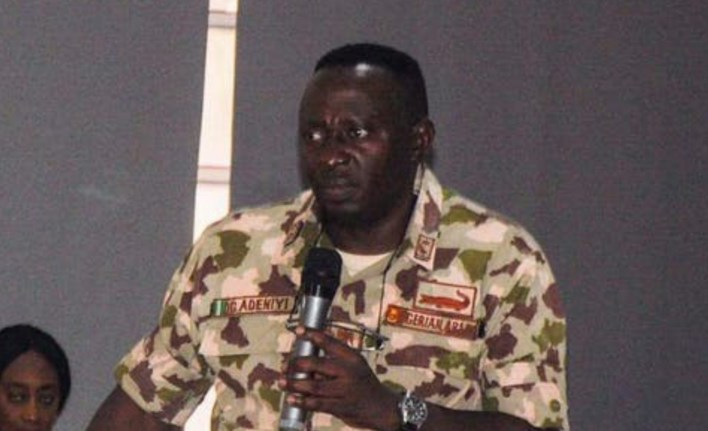 Court-martial convicts, demotes Gen Adeniyi over leaked video