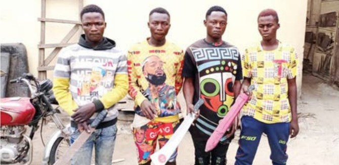 Police arrest four suspects in Kaduna for robbing businessman in Lagos