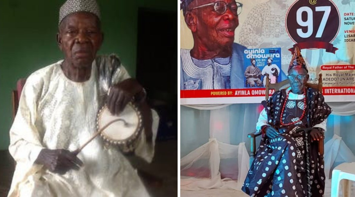 Ayinla Omowura's lead drummer, Adewole Onilu-Ola is dead