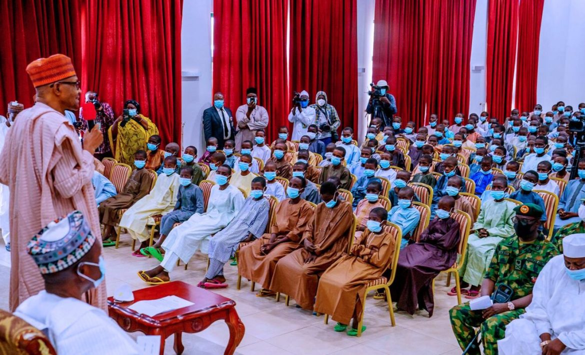 'This is the Buhari we used to know', elders forum reacts to Kankara schoolboys' rescue