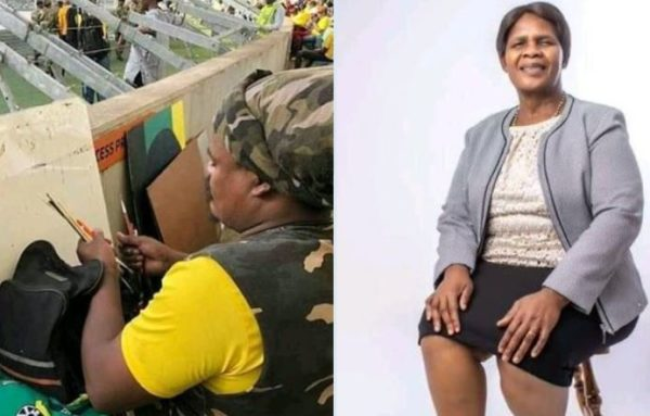 Mzansi warn Rasta on painting Gee Six Five