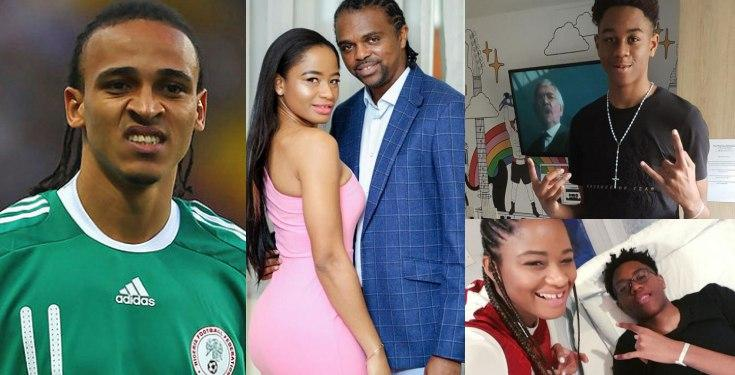 Odemwingie Calls Out Amara Kanu For 'Chasing Him' Relentlessly Without Husband's Permission, She Reacts