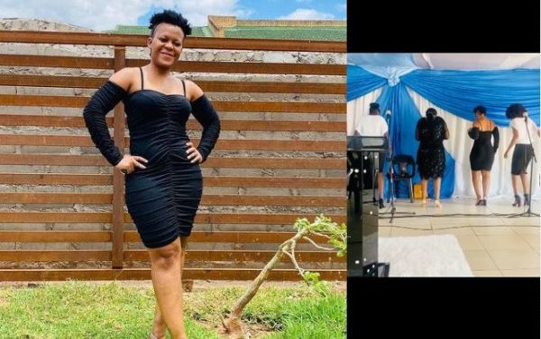 Zodwa Wabantu performs in church (Video)