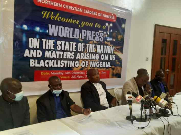 Blacklist: Review hasty terrorism-clad conclusion on Nigeria, Northern Christain leaders tell U.S
