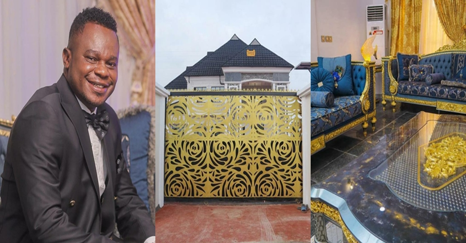 Recharge Card Seller Turned Africa's Leading Network Marketing Expert Unveils Mansion