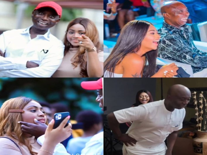 'I love you baby'- Regina Daniels tells her hubby, Prince Ned Nwoko, as he turns a year older (video)