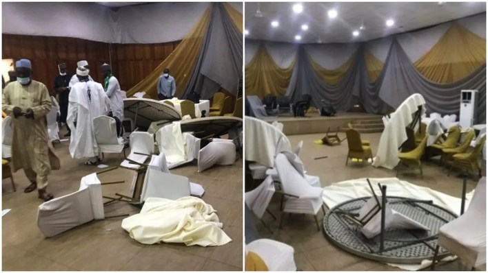 Thugs disrupt Kaduna security summit