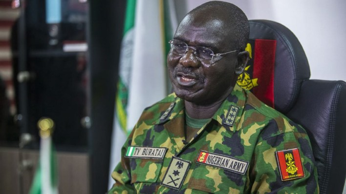 Spiritual warfare prevented deaths at Lekki toll plaza, says Buratai