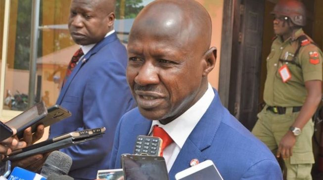 Don't give up on fight against corruption, Magu begs Nigerians