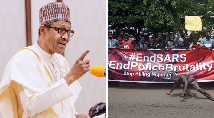 President Buhari speaks on CNN, BBC reports of EndSARS violence