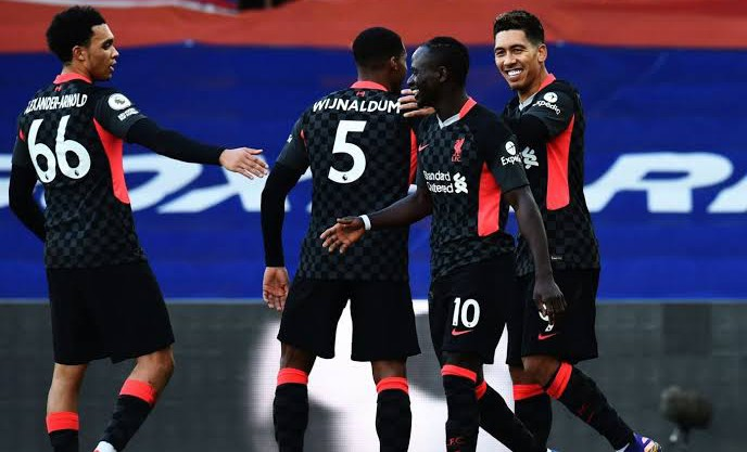 Liverpool whips Crystal Palace 7-0 in historical victory