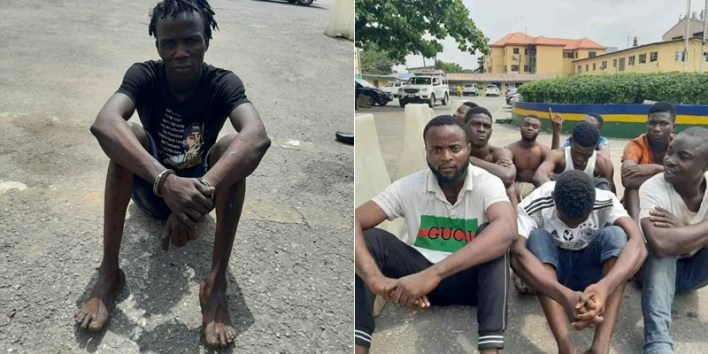 Lagos Police Apprehend 23-year-old Suspected Armed Robber, Arsonists