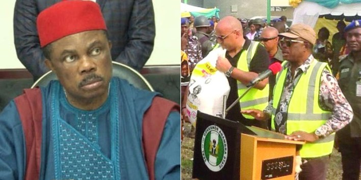 Pensioners reject Obiano's annual Christmas rice, demand payment of retirement benefits