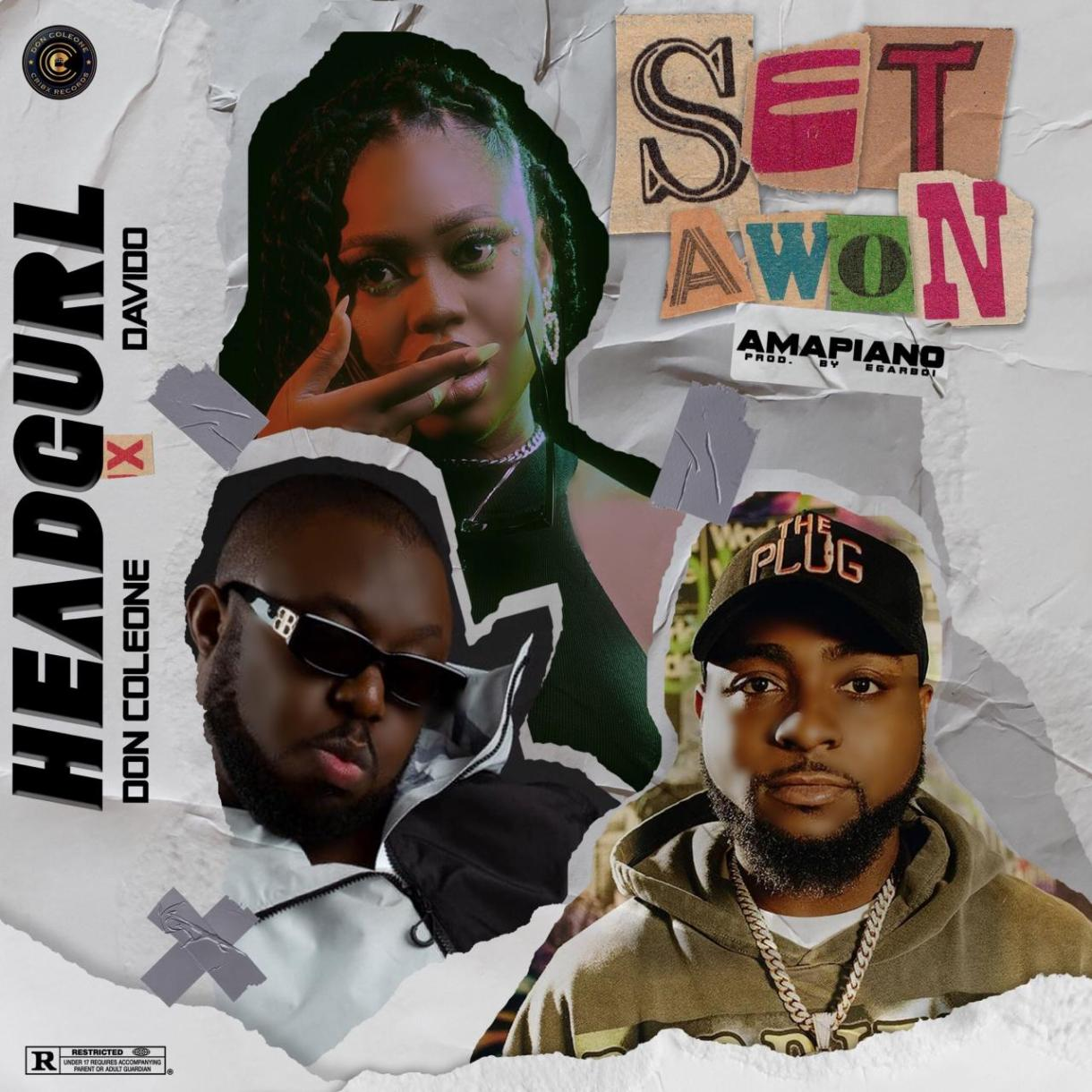 Headgurl Ft. Davido & Don Coleone - Set Awon (Remix)