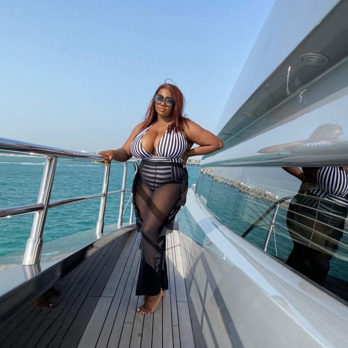 BBNaija's Dorathy vacations in Dubai [pictures]