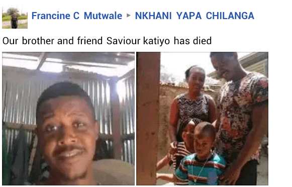 Zambia national 28, slaughters wife, commits suicide