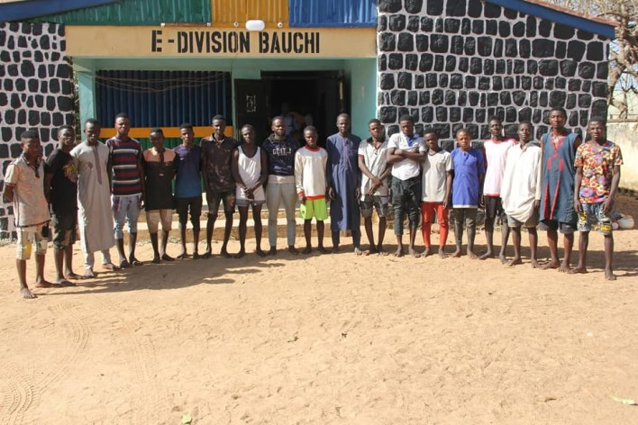 PHOTOS: Police bust suspected criminal syndicate notorious for organising sex parties, phone theft in Bauchi