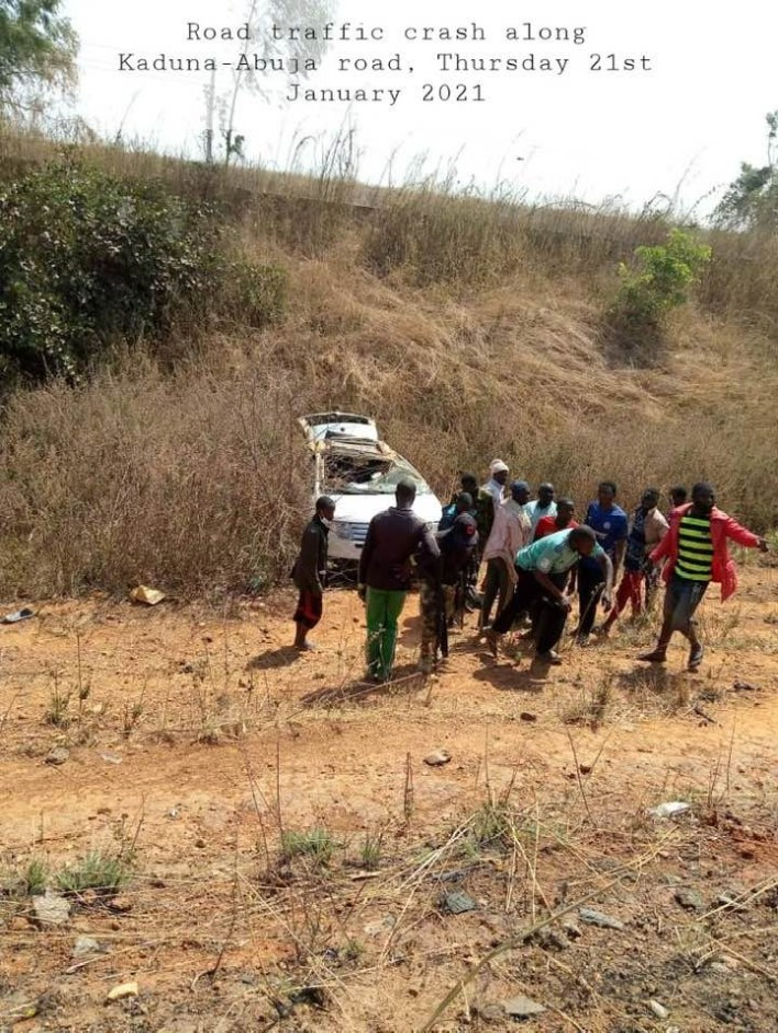 PHOTOS: 15 Killed In Accidents Along Kaduna-Abuja Road