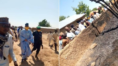 PHOTOS: Three killed as bandits attack Zamfara Speaker's hometown