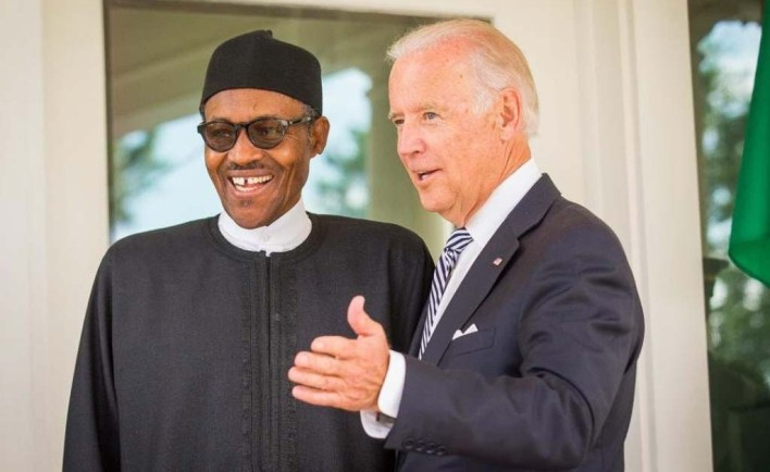 Inauguration: Buhari sends message to U.S President, Joe Biden, VP Kamala Harris