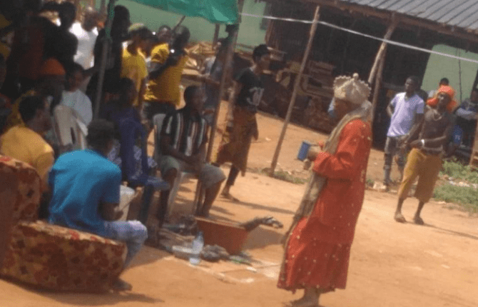 Native doctor claims family member responsible for death of six children crushed by learner driver in Edo