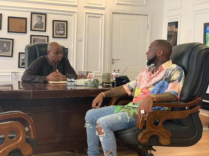 After threatening to quit music, Davido joins family business; becomes director in father's company