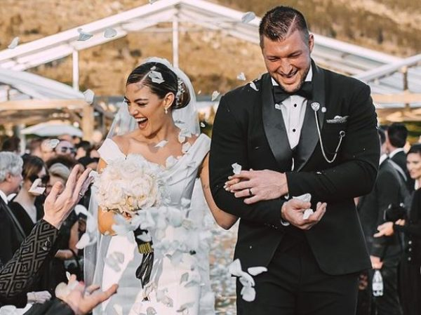 Demi-Leigh celebrates 1st wedding anniversary with Tim Tebow (Video)