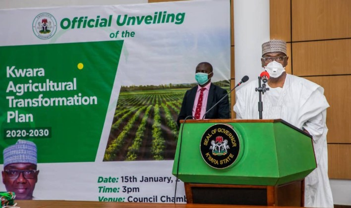 Kwara Gov launches 10-year agric transformation plan