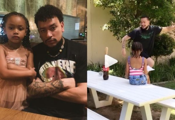 Cute! Kairo Forbes tries out Mentos experiment with AKA – Watch
