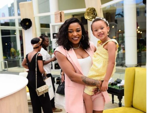 DJ Zinhle marvels at daughter's growth – Photos