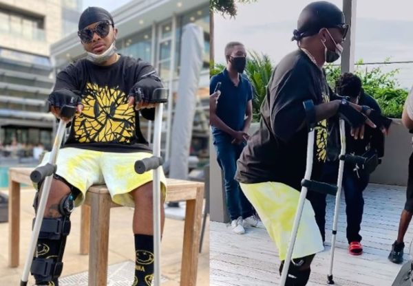 Major League's Bandile serves dance moves with his crutches (Video)