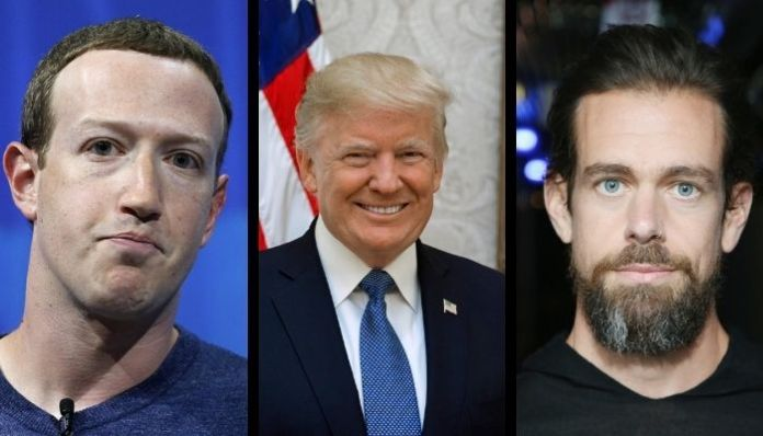 Twitter and Facebook lose $51 billion in market cap in two days following Trump ban