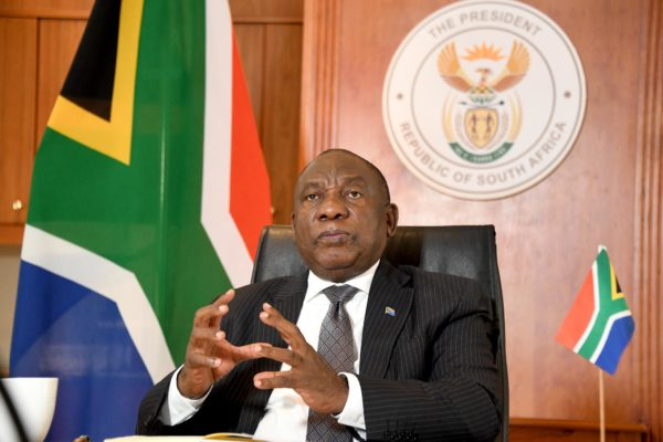 President Cyril Ramaphosa to address the nation today