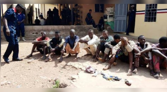 NSCDC parade 10 suspected Criminals in Kwara