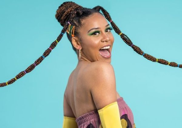 Sho Madjozi shares footage of how she performed in the rain in Tanzania