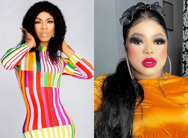 Bobrisky reacts after Instagram deletes James Brown's account