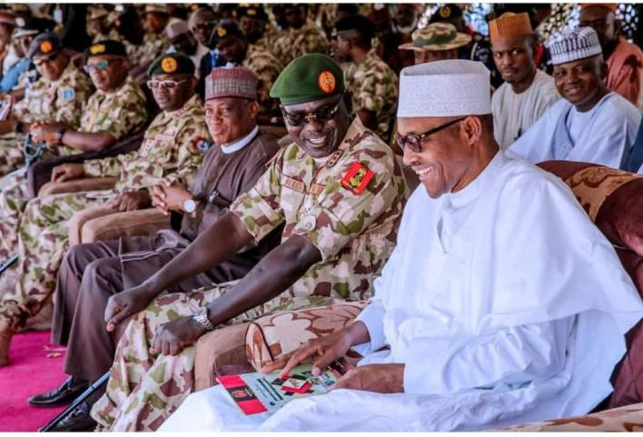 Buratai and Buhari