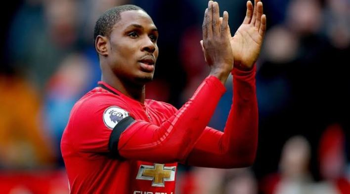 Odion Ighalo says goodbye to Manchester United