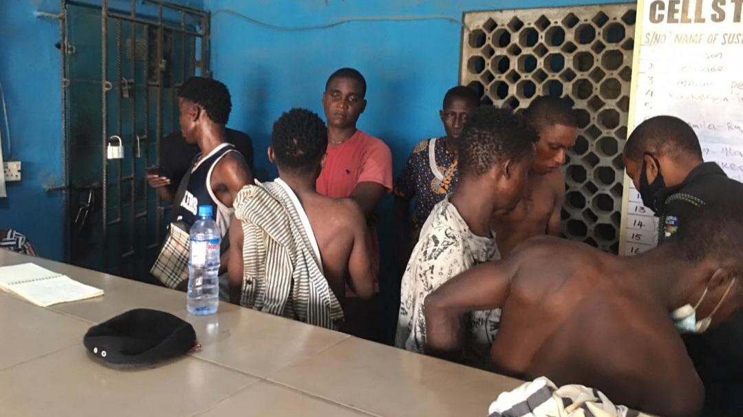 PHOTOS: Police arrest 19 suspected cultists, recover arms