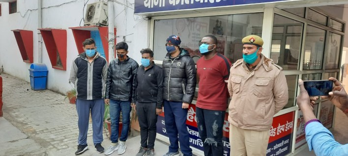 Police arrest Nigerian national, four Indians for duping women on matrimonial sites