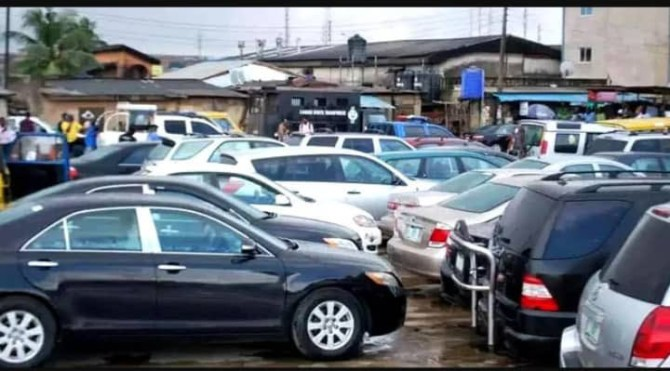 PHOTOS: Lagos state government auctions 83 vehicles impounded from traffic offenders
