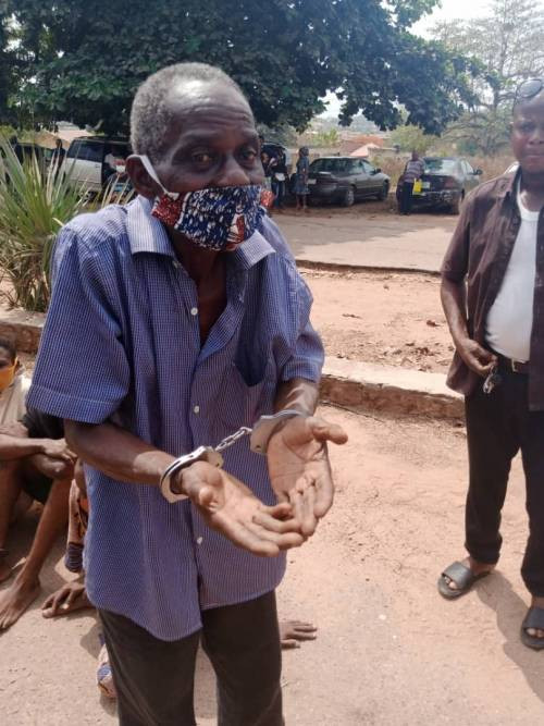 Police arrest 72-year-old pastor for defiling 13-year-old girl in Oyo