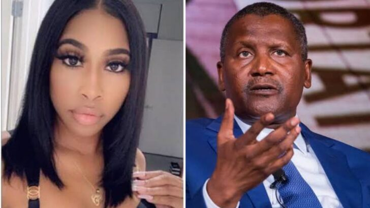 Dangote's Alleged Ex-Girlfriend Evicted From U.S. Apartment For Owing Six Months Rent