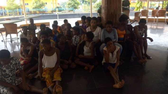 24 pregnant girls, 11 children rescued from Calabar baby factory